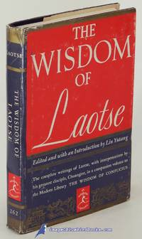 image of The Wisdom of Laotse (Modern Library #262.1)