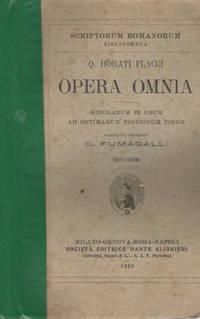 Q. Horati Flacci Opera omnia