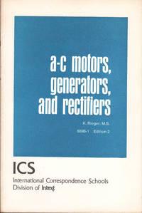 image of A-C MOTORS, GENERATORS AND RECTIFIERS.