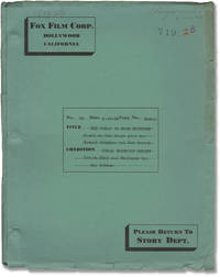 The Woman in Room Thirteen (Original screenplay for the 1932 film)