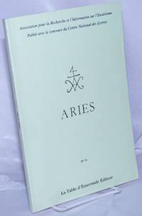 Aries.  No 15.  Association pour la Recherche et l'Information sur l'Esoterisme