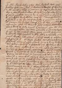 1752 Colonial Document. Reading, Massachusetts. Signed by Michael Sweetser