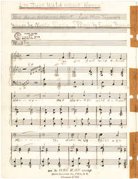 "Eubie Blake Complete Autograph Manuscript of Classic ""I'm Just Wild about Harry"""