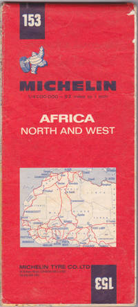 Africa, North and West = Afrique, Nord et Ouest (Michelin map, 153) 1:4,0 00,000