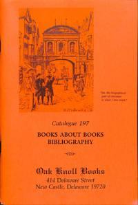CATALOGUE 197 / (1997) : Books About Books, bibliography.