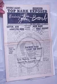 image of Berkeley Barb: vol. 5, #24 (#122) December 15-21, 1967: Top Nark Exposed