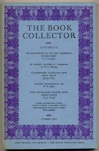 The Book Collector: Volume 10, No. 2, Summer 1961