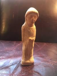 Phoenician Terracotta Goddess Original Pre-Christian Statue For Sale
