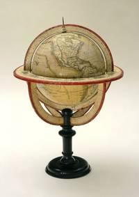 A BEAUTIFUL & INTERESTING TABLE GLOBEGlobe Terrestre Dresse par Fx. Delamrche, Succr. de R. De Vaugondy 1832.