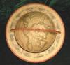 View Image 2 of 3 for A BEAUTIFUL & INTERESTING TABLE GLOBEGlobe Terrestre Dresse par Fx. Delamrche, Succr. de R. De Vaugo... Inventory #6040