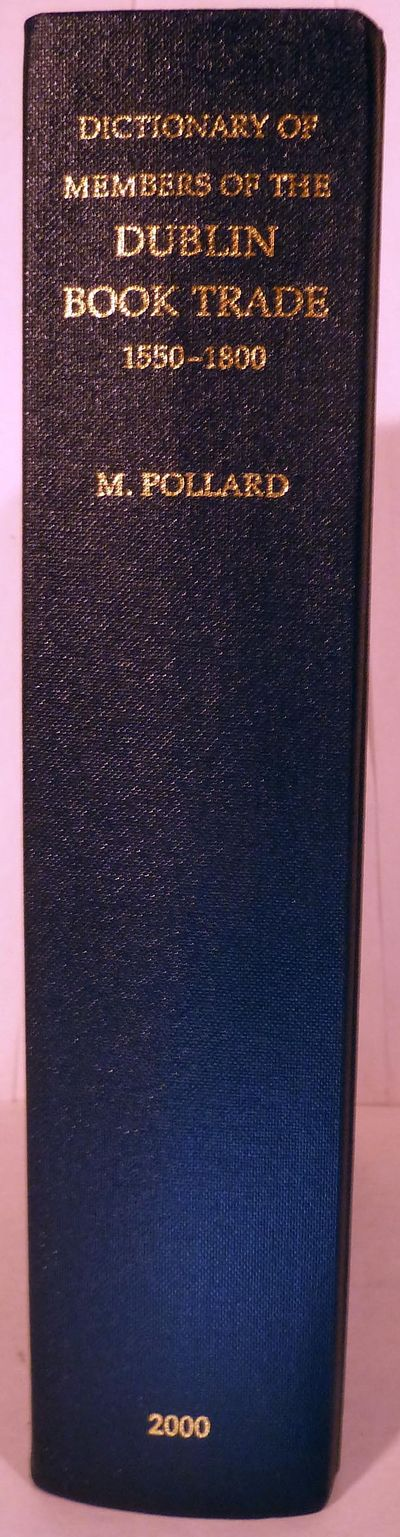London: Bibliograhical Society, 2000. First edition. Hardcover. Orig. navy cloth. Fine.. 675 pages. ...