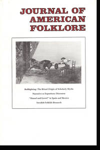 Journal of American Folklore (Vol 99, No. 394,  Oct-Dec 1986)