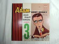 Adam stag party special 3 Bert Henry Shocking Humor Vinyl LP