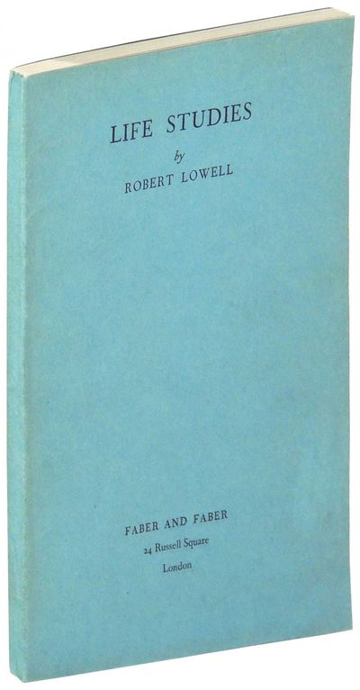 London: Faber and Faber, 1959. Advance proof copy (not designated a proof within book, but this is t...