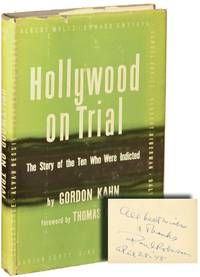 Hollywood on Trial (First Edition, inscribed by Paul Robeson in the year of publication)