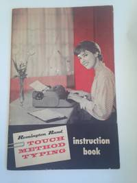 image of Remington Rand TOUCH METHOD TYPING instruction book.
