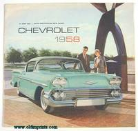 It Goes Big...With Spectacular New Shape!  Chevrolet 1958