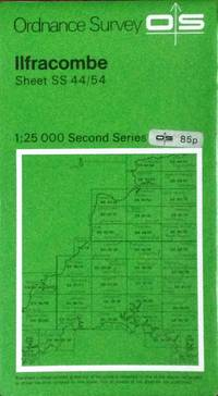 Pathfinder map Ilfracombe sheet SS44/54