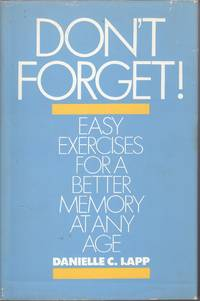 image of Don't Forget Easy Exercises for a Better Memory At Any Age
