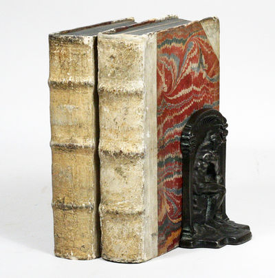 Leipzig: Gross & Fritsch, 1696. First edition. vellum, marbled boards. Very Good. FIRST PRINTINGS OF...