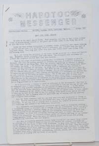 HAPOTOC Messenger. International edition. Autumn 1975