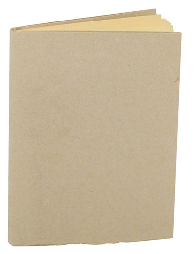 Madison, WI: Salient Seedling Press, 1982. First edition. Softcover. One of 175 copies of this finel...