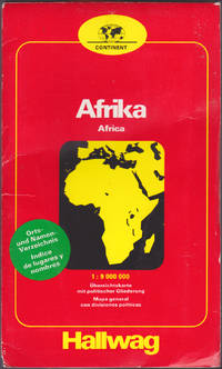 Africa = Afrika = Afrique 1:9,000,000 : general map with political division  : index of places and names
