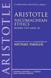 image of Nicomachean Ethics : Books VIII and IX