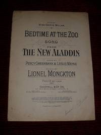BEDTIME AT THE ZOO SONG FROM THE NEW ALADDIN, SUNG BY MISS GERTIE MILLAR