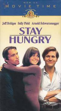 Stay Hungry [VHS]