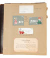 View Image 5 of 9 for Scrapbook Compiled by Columbia University Law Student and Lawyer.. Inventory #71576