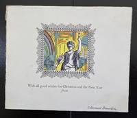 Christmas Card 1962 : Signed By Edward Bawden