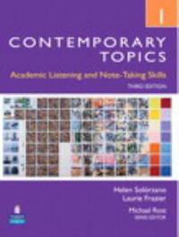 Contemporary Topics 1 : Academic Listening and Note-Taking Skills (Intermediate)