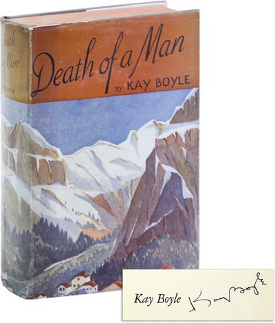 New York: Harcourt, Brace and Company, 1936. First Edition. First Printing. Octavo; full gray-green ...