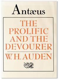 Antæus No. 42, Summer, 1981 [cover title: The Prolific and the Devourer]