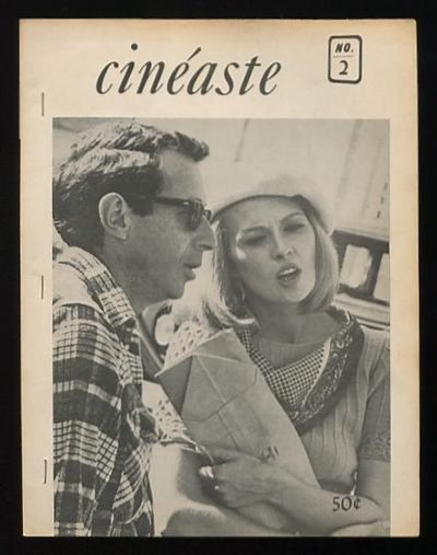 New York: Cineaste Magazine. Very Good. 1967. (Vol. I, No. 2). Magazine. . Early issue of this long-...