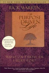 image of The Purpose Driven Life, Duo Tone Keepsake Edition