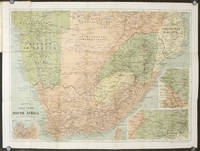 Bacon's Large-Print Up-to-Date Map of Transvall, Cape Colony, &c. Map title: Bacon's Large-Print Map of South Africa.