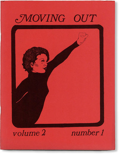 Detroit: Moving Out / Wayne Women's Liberation, 1972. First Edition. Quarto (28cm); illustrated card...
