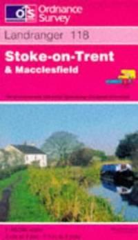 image of Stoke-on-Trent and Macclesfield (Landranger Maps)