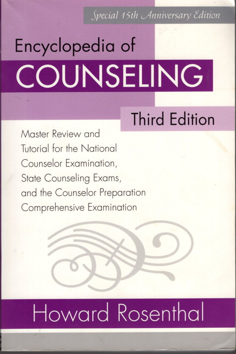 9780415958622 - Encyclopedia of Counseling Master reviewe and Tutorial for  the National Counselor Examination, State Counseling Exams, and the  Counselor ...