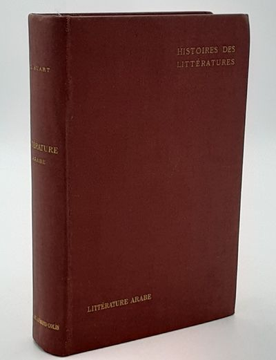 Paris. : Armand Colin. , 1912. 2nd edition.. Publisher's brown cloth, gilt titles, red top edge. ....