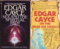 "Grouping:  ""Edgar Cayce on the Dead Sea Scrolls"" ...with ""Edgar Cayce Sex and the Spiritual Path"" 2 Soft Covers"