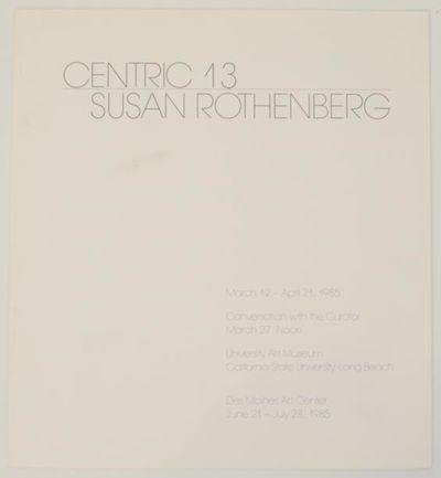 Long Beach, CA: University Art Museum, California State University, 1985. First edition. Exhibition ...