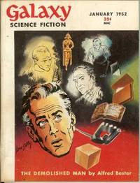 "image of GALAXY Science Fiction: January, Jan. 1952 (""The Demolished Man"")"