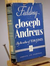 The History of the Adventures of Joseph Andrews by Henry Fielding - Hardcover - Reprint   - 1939 - from Henniker Book Farm and Biblio.com
