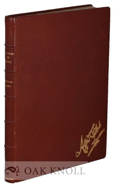 London: The Dropmore Press, 1952. full leather, gilt on cover and spine, five raised bands. Dropmore...