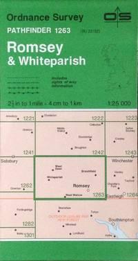Romsey & Whiteparish Pathfinder map sheet 1263