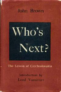 Who's Next? The Lesson of Czechoslovakia