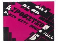 1975 New York Art Deco Exposition at Radio City Music Hall, January 28, 29, 30, 31, February 1 & 2: Catalogue